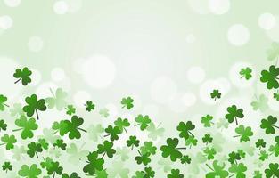 Clover Leaf Background vector