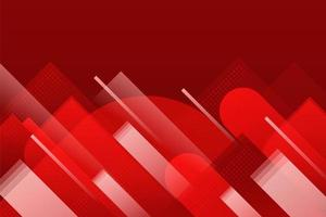 fondo abstracto rojo geadient vector