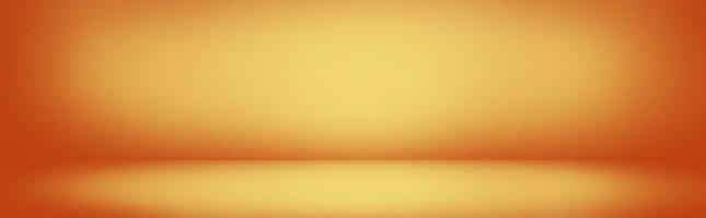 Yellow and orange gradient wall banner photo
