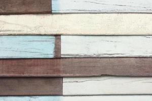 Fondo de textura de madera recuperada