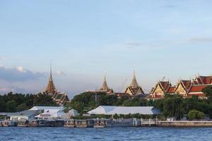 Wat Phra Kaew en Bangkok, Tailandia foto