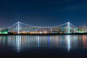 Puente de Odaiba en Japón foto