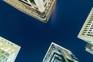 rascacielos en tokio, japón foto