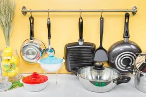Modern kitchen decorations photo