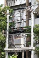 estación transformadora en tailandia foto