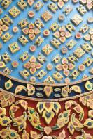 patrón en un templo en tailandia