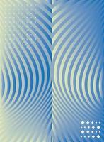 fondo azul abstracto y geométrico