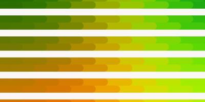 Light Green, Yellow vector backdrop with lines.