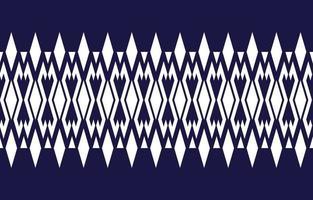 Geometric ethnic pattern traditional Design vector