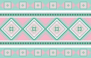 diseño tradicional geométrico patrón étnico vector