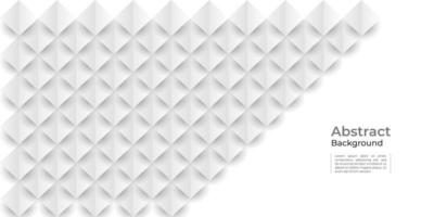 white geometric texture abstract background vector