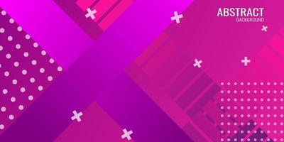 Abstract geometric background in purple gradient