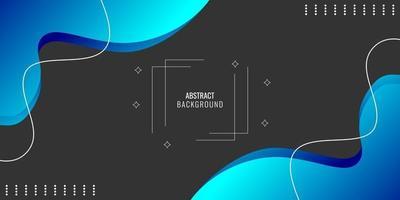abstracto geométrico ondulado moderno vector