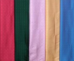 Multicolored group of cloth