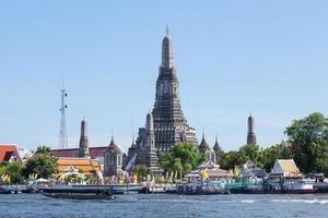 Wat Arun temple in Bangkok photo