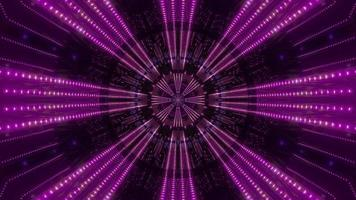 Purple, and white light and shapes kaleidoscope 3d illustration for background or wallpaper