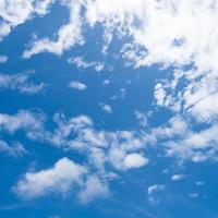 Clouds and bright sky