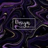 diseño de mármol moderno para invitación vector