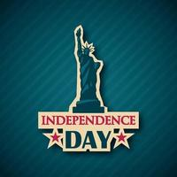 Independence day vector background