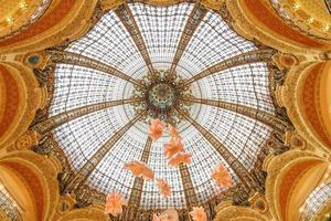 Interior of the Galeries Lafayette, Paris, France, 2018