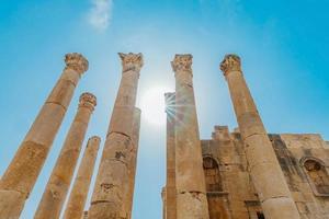Templo de Artemisa en Gerasa, actual Jerash, Jordania foto