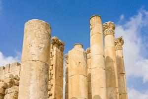 Ruins in Jerash, Jordan photo