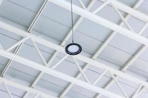 LED lighting lamp on the ceiling