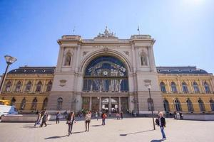 Estación de Keleti en Budapest, Hungría, 2016 foto