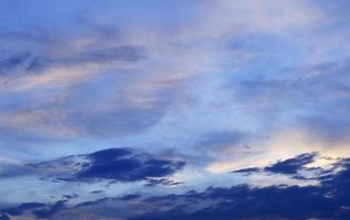 Sunset sky background photo
