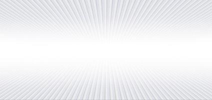Banner abstracto web líneas de perspectiva geométrica diagonal fondo de color degradado blanco y gris. concepto de tecnología. vector