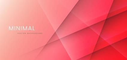 Fondo degradado rosa rojo abstracto con líneas de rayas diagonales y textura. vector
