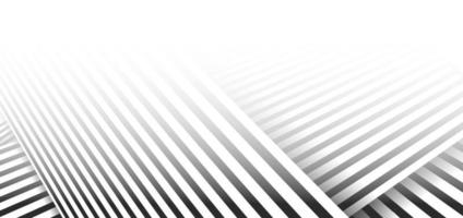 Abstract minimal black striped line pattern on white background and texture. vector
