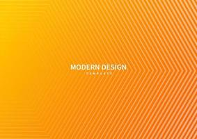 Abstract modern striped lines on orange gradient background. vector
