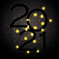 Happy new year party design vector