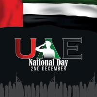 United Arab Emirates National Day vector