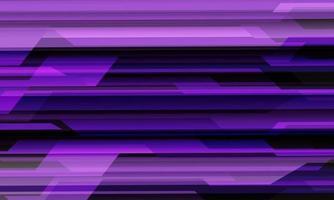 Ilustración de vector de fondo futurista de tecnología moderna diseño abstracto violeta negro circuito cibernético patrón geométrico.