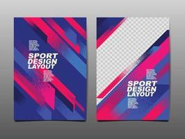 Sport Design Layout ,template Design, Sport Background, Dynamic Poster, Brush Speed Banner, Vector Illustration.