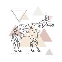 Vector geometric Okapi.