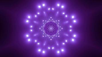 Snowflake shape 3d illustration kaleidoscope design for background or wallpaper