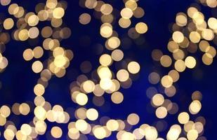 Soft defocused bokeh lights photo
