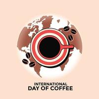 International Day of Coffee Greeting Card