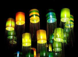 Lanterns on ceiling