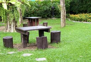 área de picnic en el parque