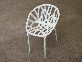 silla moderna blanca