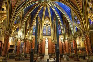 la sainte chapelle en parís, francia