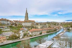 View of Bern, the capital of Switzerland photo