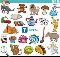 letra t palabras tarea educativa para niños