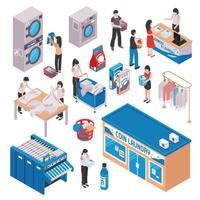 isometric laundry set