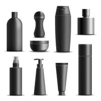 men's cosmetics realistic vector