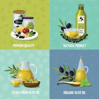 Olive background 2x2 vector